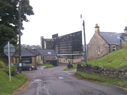 Glen Moray Whisky Distillery Entrance