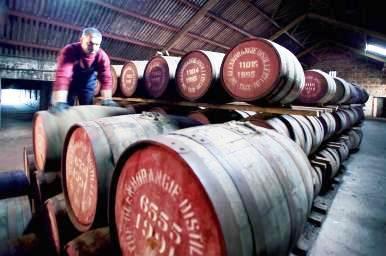 Glenmorangie Whisky Distillery Maturing