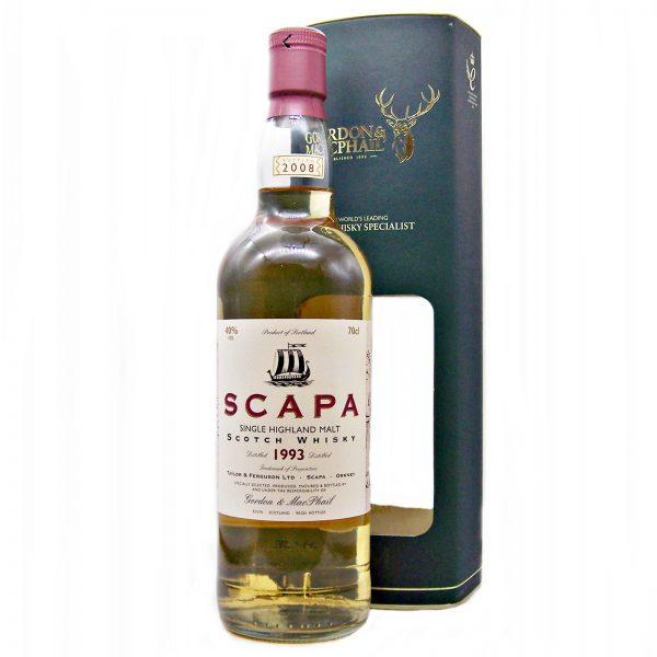 Scapa 1993 Single Malt Whisky Gordon & MacPhail
