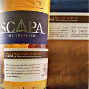 Scapa Glansa Single Malt Whisky Orkney