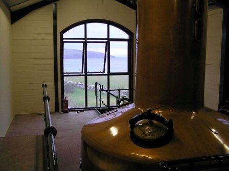 Scapa Whisky Distillery Still room