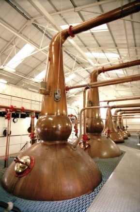 Talisker Whisky Distillery Stills