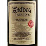 Ardbeg Dark Cove Committee Release whisky
