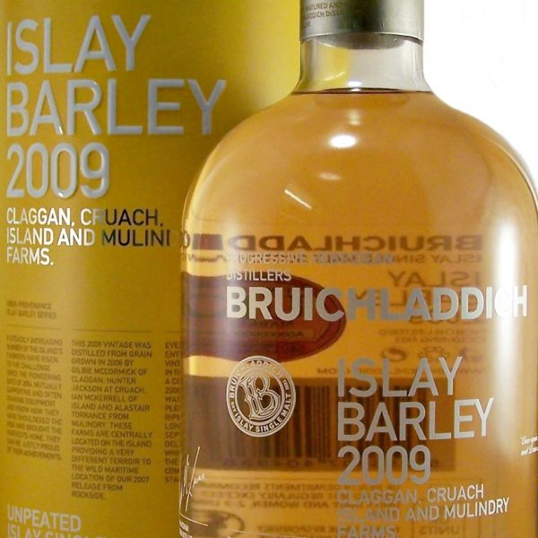Bruichladdich Islay Barley 2009 Single Malt Whisky