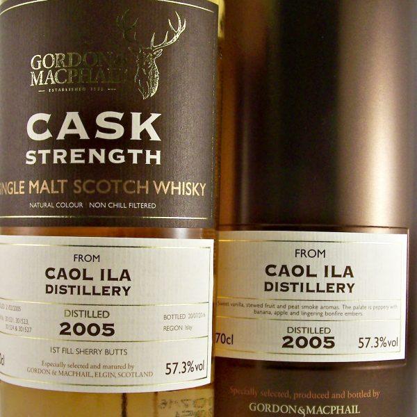 Caol Ila 2005 Cask Strength Islay Single Malt Whisky