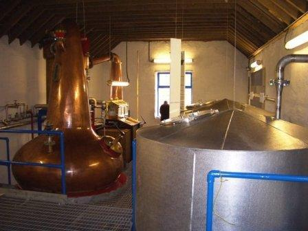 Kilchoman whisky Distillery Stillhouse