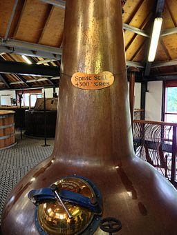 Arran Whisky Distillery Still
