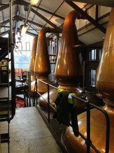 Jura whisky Distillery Stills