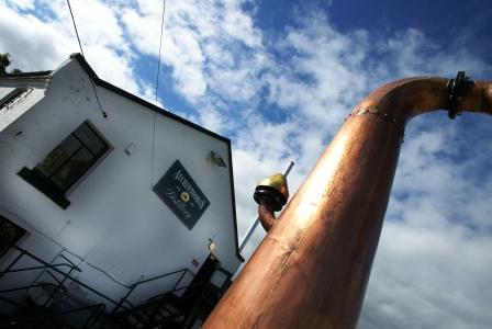 Auchentoshan Whisky Distillery Exterior
