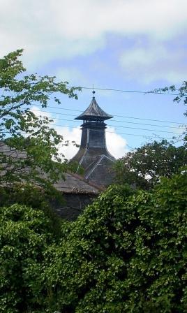 Bladnoch Whisky Distillery Pagoda