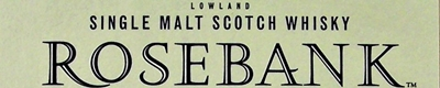 The Rosebank whisky distillery logo