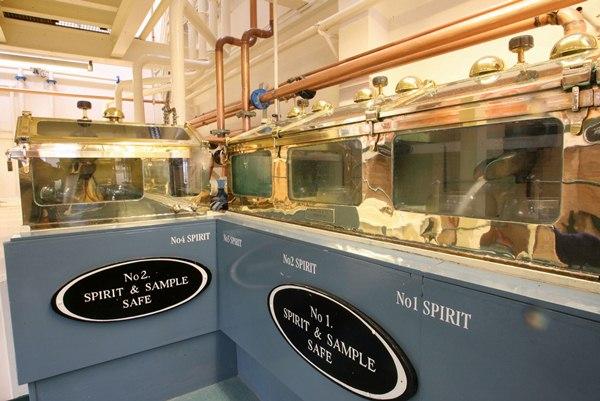 Glen Grant Whisky Distillery Spirit Safes