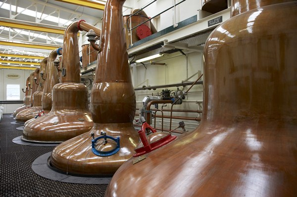 Glen Grant Whisky Distillery Stills