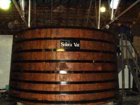 Glenfiddich whisky distillery Solera vat