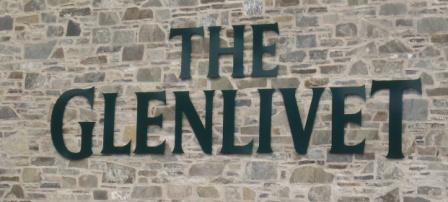 Glenlivit Whisky Distillery Logo