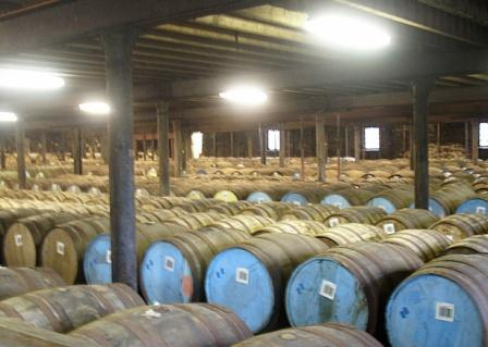 Glenlivit Whisky Distillery Dunnage Warehouse
