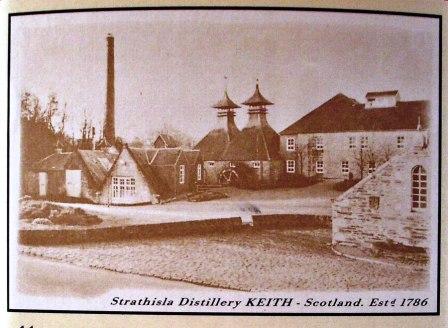Strathisla Whisky Distillery Vintage