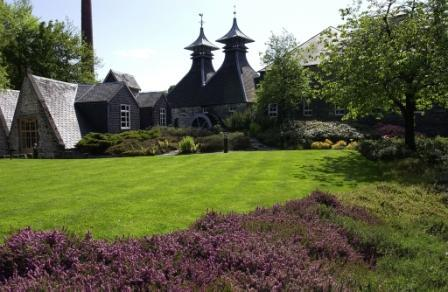 Strathisla Whisky Distillery Grounds