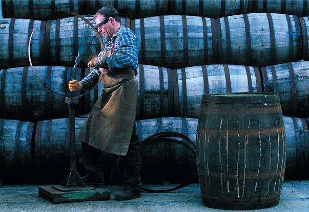 Glenfiddich whisky distillery cooperage