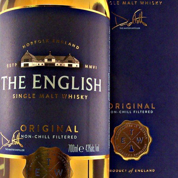 English Original Single Malt Whisky St George's Distillery