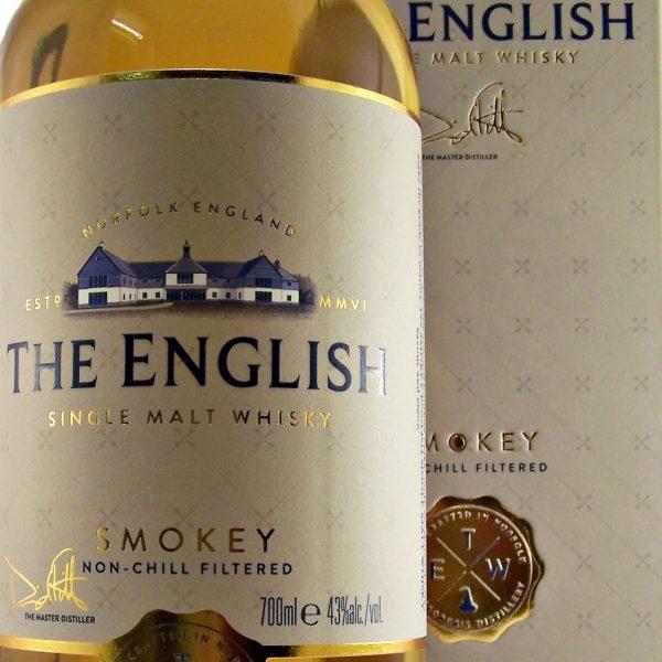 English Smokey Single Malt Whisky St George's Distillery