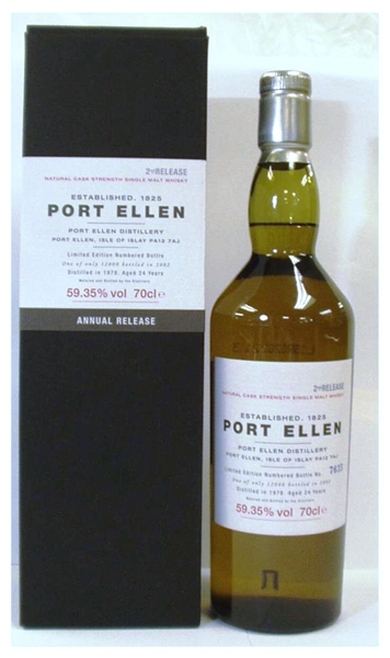 Port Ellen Whisky Distillery