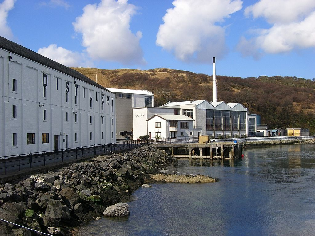 Caol Ila Whisky Distillery