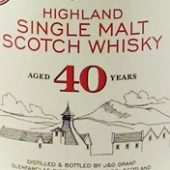 40 Year Old Whisky