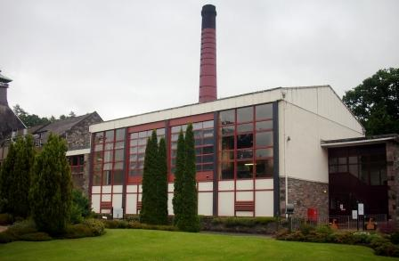 Aberfeldy Whisky Distillery Still house
