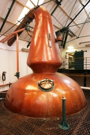 Glenkinchie Whisky Distillery Stills
