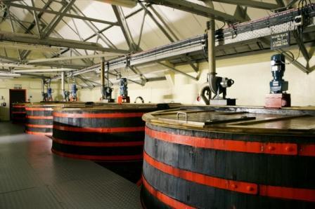 Cardhu Whisky Distillery washbacks