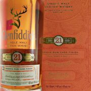 Glenfiddich 21 year old Reserva Rum Cask Finish Single Malt Whisky
