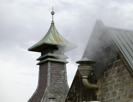 Longmorn Whisky Distillery Pagoda