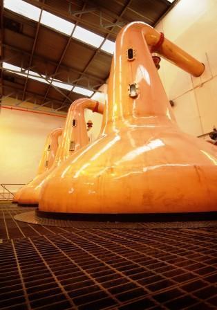 Longmorn Whisky Distillery Stills