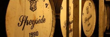 Speyside Whisky Distillery Casks