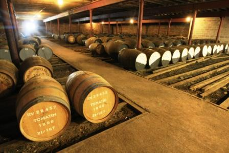 Tomatin Whisky Distillery Dunnage warehousing