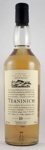 Teaninich Single Malt Whisky 10 year old Flora & Fauna