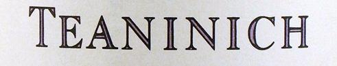Teaninich Whisky Distillery Logo