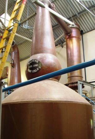 Balvenie Whisky Distillery Still