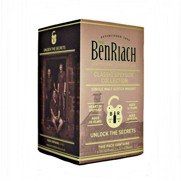 Benriach Miniature Whisky Gift Set