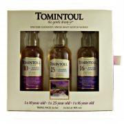 Tomintoul Miniature Triple Pack from whiskys.co.uk