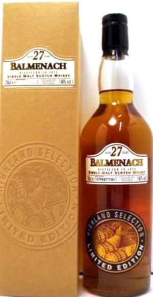Distillery edition Balmenach Malt Whisky