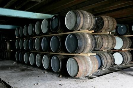 Dalwhinnie Whisky Casks Maturing