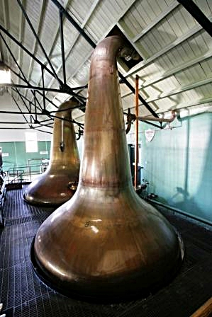 Dalwhinnie Whisky Distillery Stills