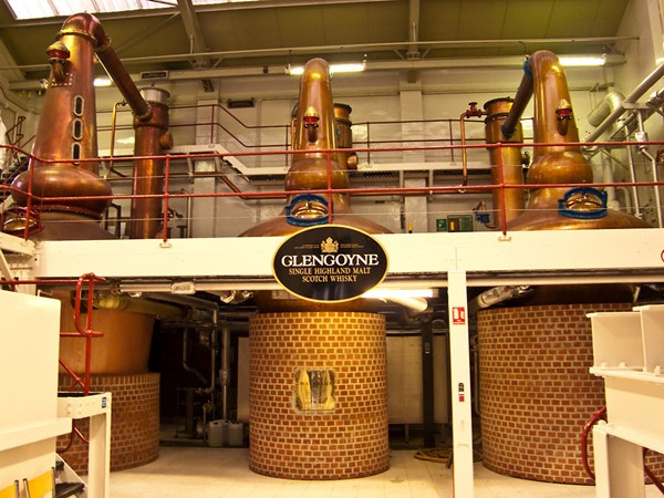 Glengoyne Whisky-Distillery Stills
