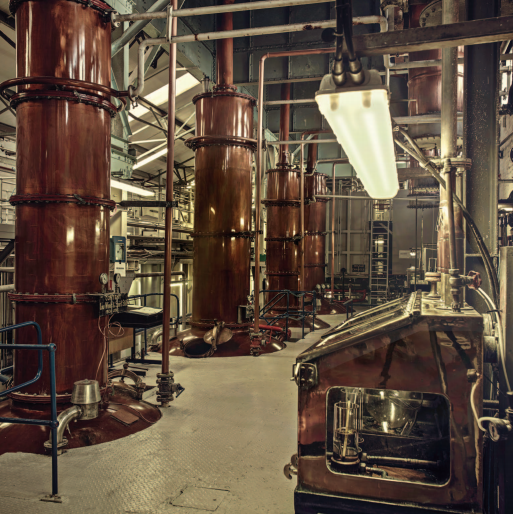 Loch Lomond Whisky Distillery Stills