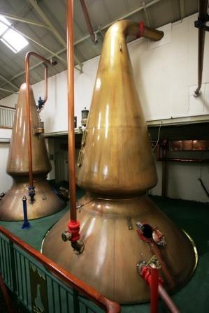 Oban Whisky Distillery Stills