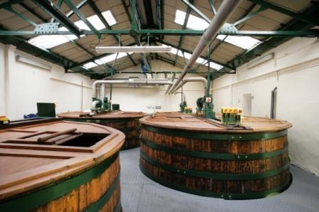 Oban Whisky Distillery Wash Backs