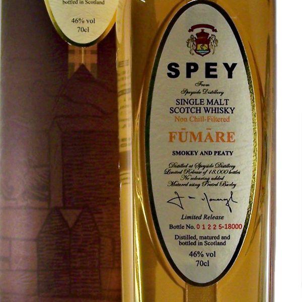 Spey Fumare Smokey Single Malt Whisky