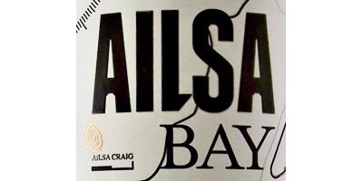 Ailsa Bay Lowland Malt Whisky Label